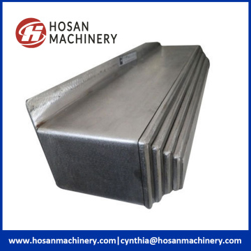 Carbon Steel Accordion Linear Guide Sliding Bellow Cover