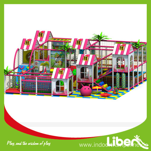 Child's indoor amusement playground