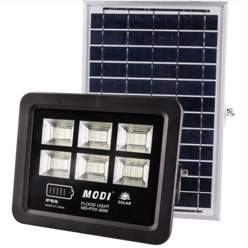 High quality smart solar flood light for park