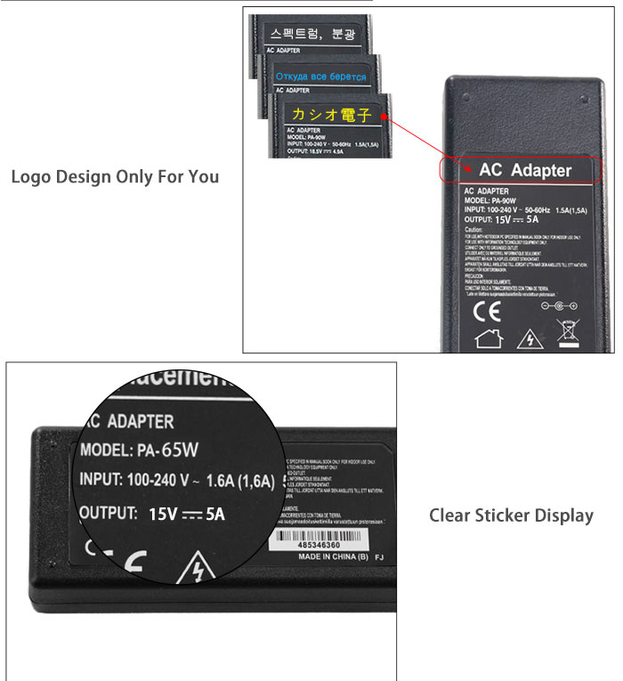 15v 5a laptop adapter