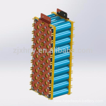 Rechargeable 48v 400ah Electric forklift battery