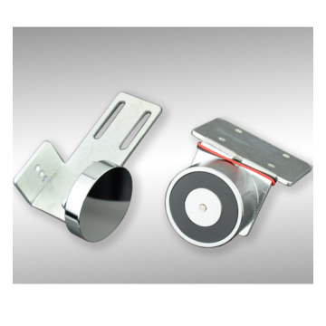 Hot sale automatic front sliding door glass lock