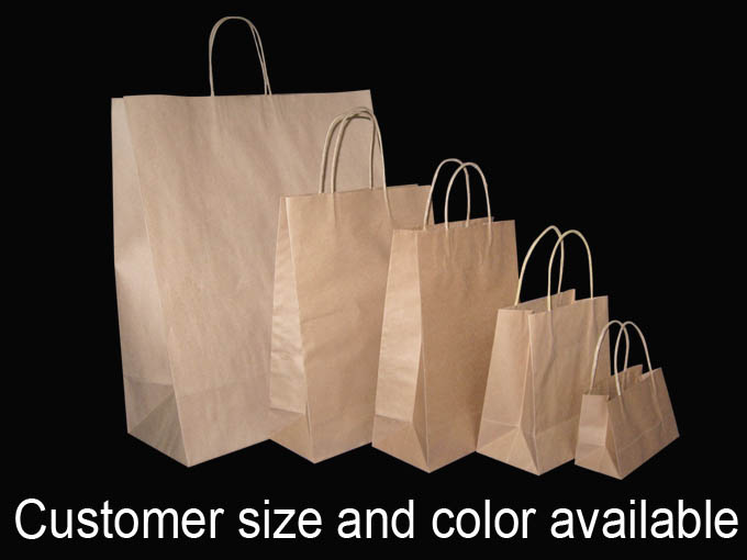 Bulk Brown Bags With Handles