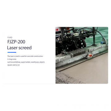 Concrete Screed Leveler Machine Full Hydraulic Laser Screed FJZP-200