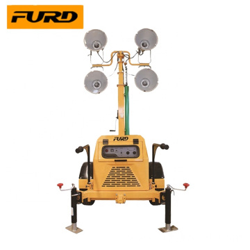 7m Diesel Generator Manual High Mast Mobile Light Tower