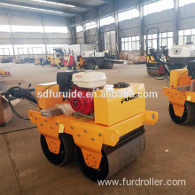 Hand road roller with small body design