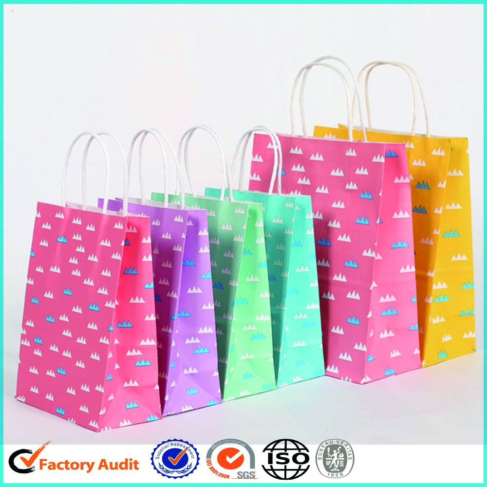 Fancy Paper Gift Bags With Handle