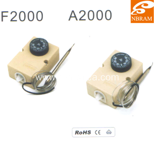 Type A2000  Stainless Steel Capillary Thermostat