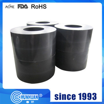 Carbon filled Teflon tubes