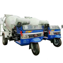 Mini tricycle concrete mixer truck