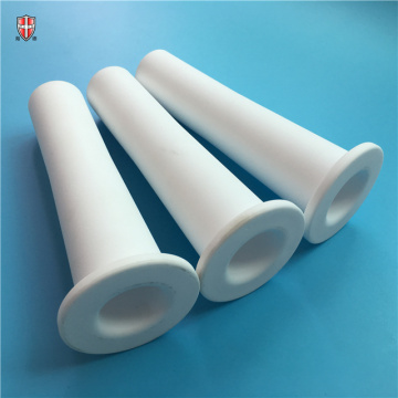 high temperature ceramic 92% 95% alumina tube pipe