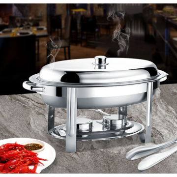 Stainless steel hot pot for high-end banquet