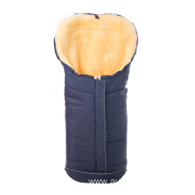 Genuine merino sheepskin sleeping bag for babies