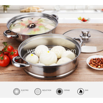304 Stainless Steel Multi-function Soup Steamer