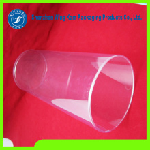 Custome made clear plastic tube packaging