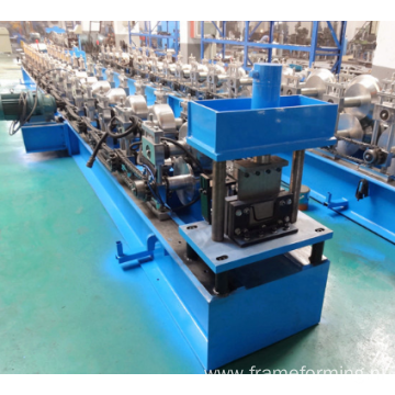 High front gutter roll forming machine