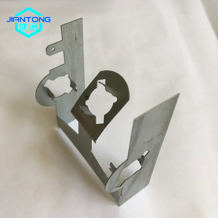Galvanized Steel Custom Stamped Cut Folded Sheet Metal Parts 10