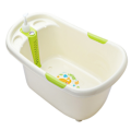 Infant Plastic Bathtub With Thermometer Baby Product