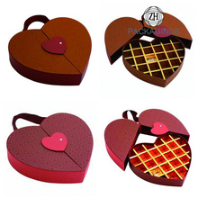 Heart-shaped Chocolate Boxes Foldable Hand-held