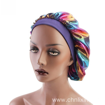 Chemo headwrap braids turban bandanas hat