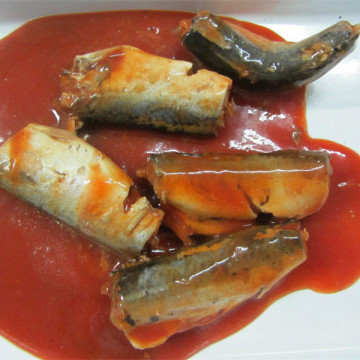Canned Mackerel In Hot Tomato Sauce 417g