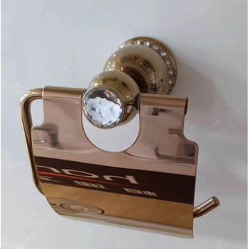 Brass Bathroom Wall Mounted Tissue Holder