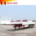 3 Axles Bulk Cargo Sidewall Transport Trailer