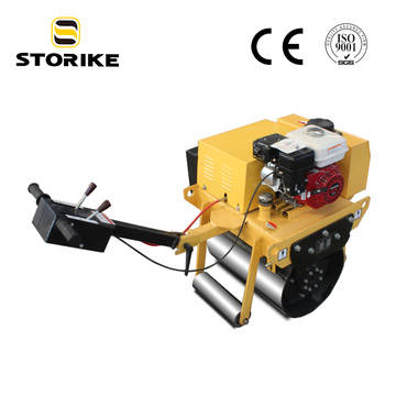 Small Single Drum Vibrating Road Compactor Roller