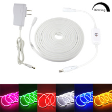 12V Led Strip Light 6mm Neon Sign Light SMD 2835 120LEDs/M Flexible Waterproof Rope Tube for DIY Christmas Lights Decoration
