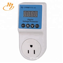 US Plug LCD Display 120V-60HZ Voltage Protector