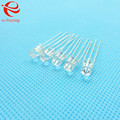 5mm LED Bi-Color Common Anode Round Light Emitting Diode Dual Color Red Green Brightness Ultra Bright Transparent 100 pcs/lot