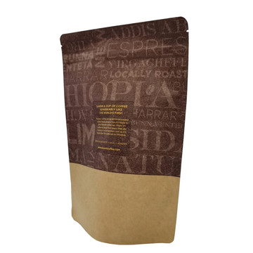 Natural Superfood Packaging Zipper Coffee Stand Up Bag