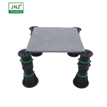 supporting decking and tiles adjustable screw jack pedestal