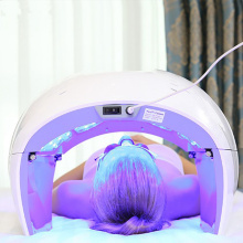photodynamic infrared led light skin facial therapy machine