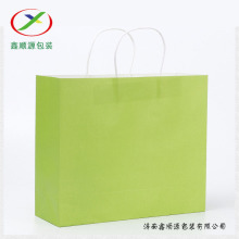 Recycling colorful paper gift bags