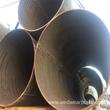 Metallurgical bimetallic wear-resisting pipe