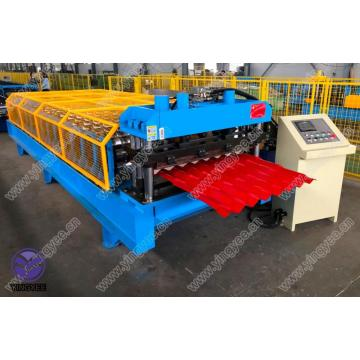 Metal Glazed tile roof sheet making machine