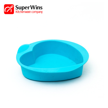 Reusable Heart Shape Silicone Baking Cake Pan