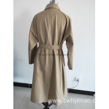 Spring lady windcoat with belt