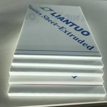 Environmentally-friendly Polypropylene PP Plastic Sheets