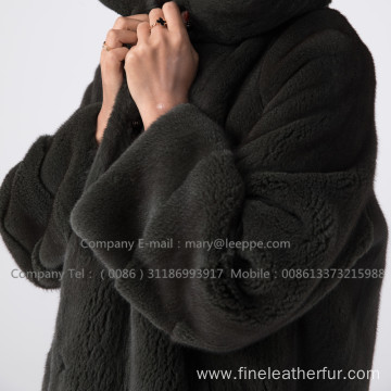 Winter Kopenhagen Velvet Mink Coat