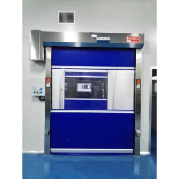 PVC curtain rapid rollup door