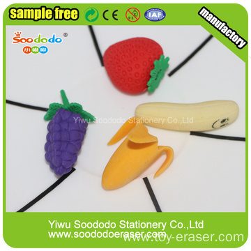 3D Stationery Gift Eraser in Fruit Shape