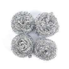 4/6PCS Utility Stainless Steel Wire Ball Brush Cleaning Brush Kitchen Pot Tableware Cleaner Scrub Rust Remover Dish Strong Tools