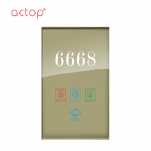 China Manufacturer Wired Smart hotel door plate