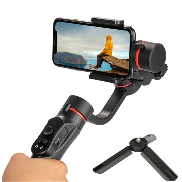 H2 3 Axis Handheld Gimbal USB Charging Video Record Universal Adjustable Direction Smartphone Stabilizer with Stand