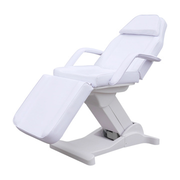 White Electric Facial Beds