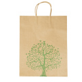 Customized Printing With Handle Luxurious Kraft Paper Bags