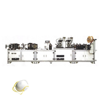Automatic Surgical FFP3 Cup Mask Making Machine