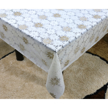 Printed pvc lace tablecloth by roll restaurant